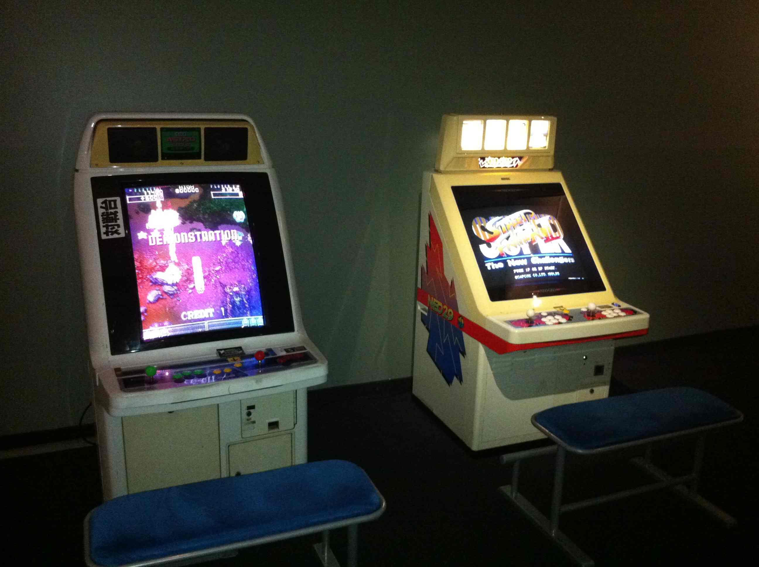 Museo Games Electropolis Mulhouse Retro Gaming Borne arcade
