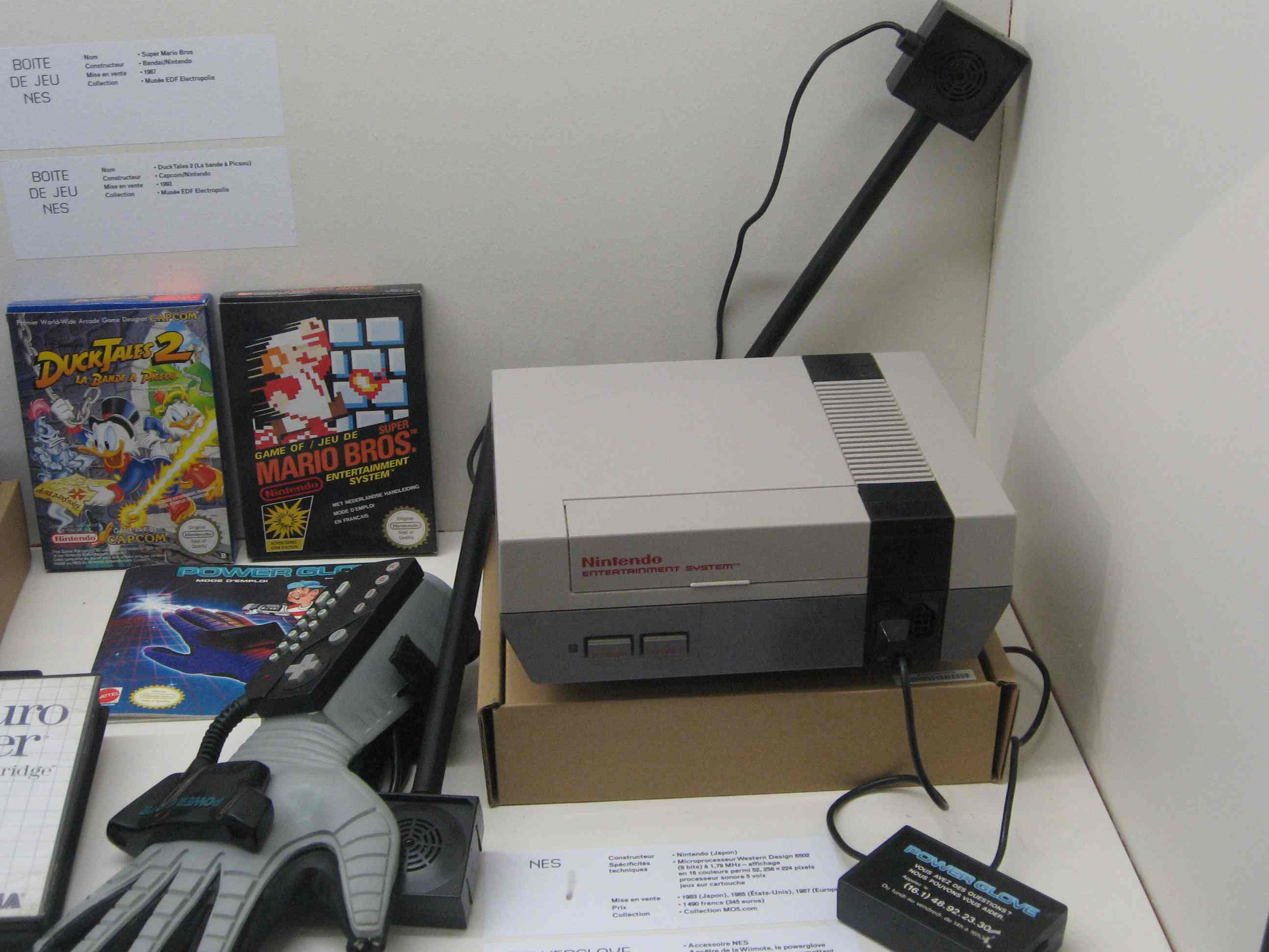Museo Games Electropolis Mulhouse Retro Gaming Nintendo