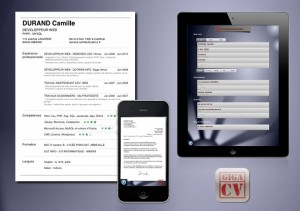 Image de l'application iPhone et iPad giga-cv