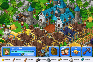 Autre image de mon village dans le jeu iPhone Trade Nations