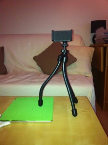 Photo du trépied Capdase Smart Tripod