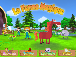 Image de l'application iPad La Ferme Magique