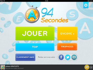 Image de l'application iPhone et iPad 94 Secondes