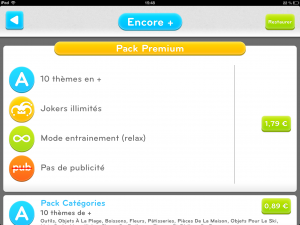 Image du pack premium de l'application iPhone et iPad 94 Secondes