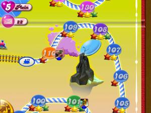 Candy Crush Saga - Carte des niveaux