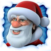 Image de l'application iPad Père Noël qui parle