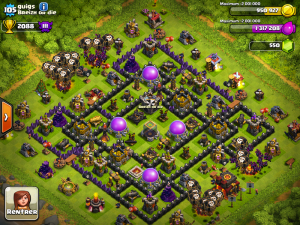 Image d'un autre village dans Clash Of Clan