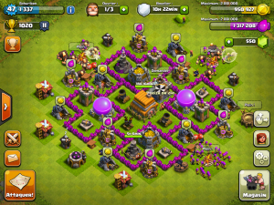 Image d'un village dans Clash Of Clan