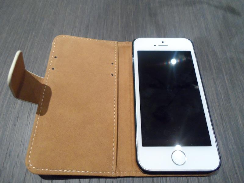 Photo de lintérieur de la coque pour iPhone 5S Create and Case – Hiboux Guerrier