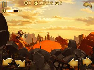 Image d'un parcours du jeu Trials Frontier