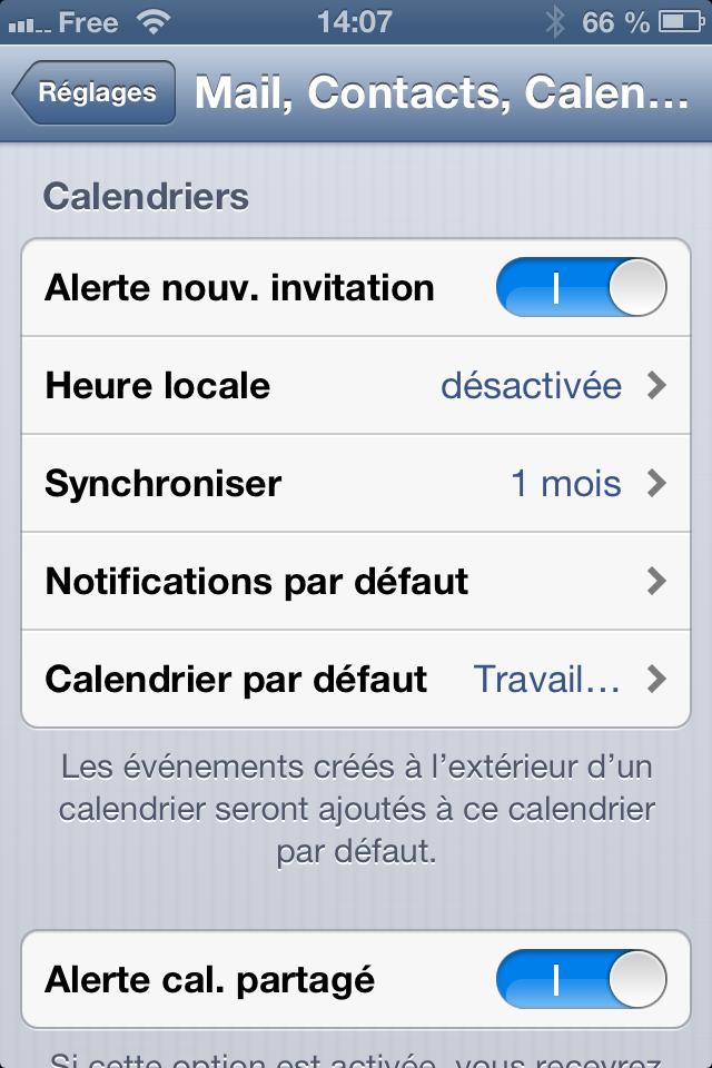 comment avoir des notification pour les anniversaires sur iphone