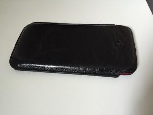 Photo de l'étui pour iPhone 6 Redneck noir en cuir