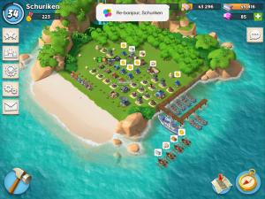 Image de la base dans Boom Beach
